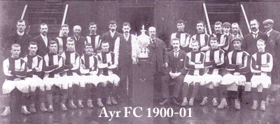 ayr fc 1900-01 team group