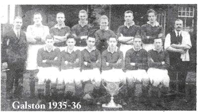 galston fc 1935-36 team group