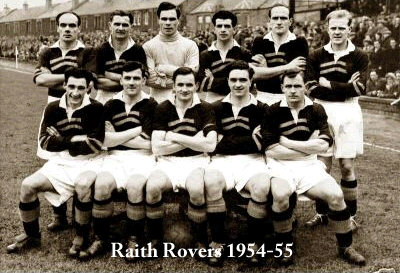 raith rovers 1954-55
