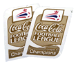 league one champions sleeve patch