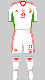 hungary euro 2020 2nd kit